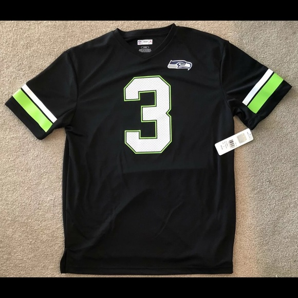 NFL Other - Seattle Seahawks Russell Wilson Shirt Size Large